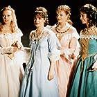 Simona Postlerová, Sárka Ullrichová, Tereza Groszmannová, and Sabina Králová in O trech ospalých princeznách (1998)
