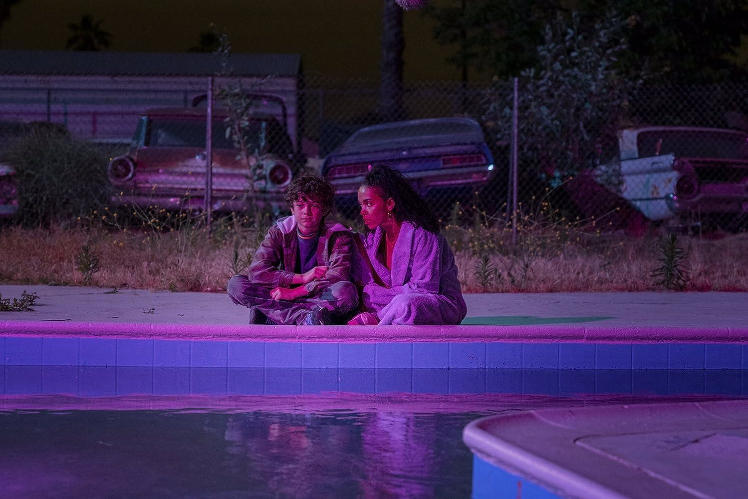 FKA Twigs and Noah Jupe in Honey Boy (2019)