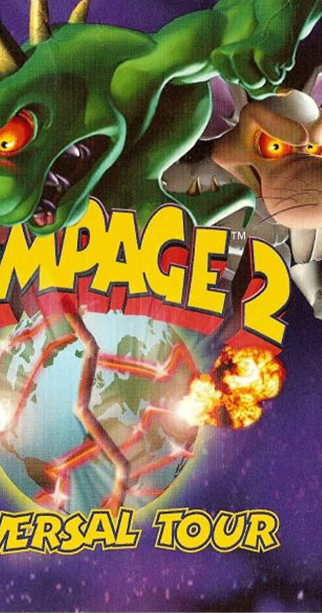 all rampage game characters