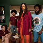 Douglas Silva, Emanuelle Araújo, Sabrina Nonata, and Cauã Gonçalves in Samantha! (2018)