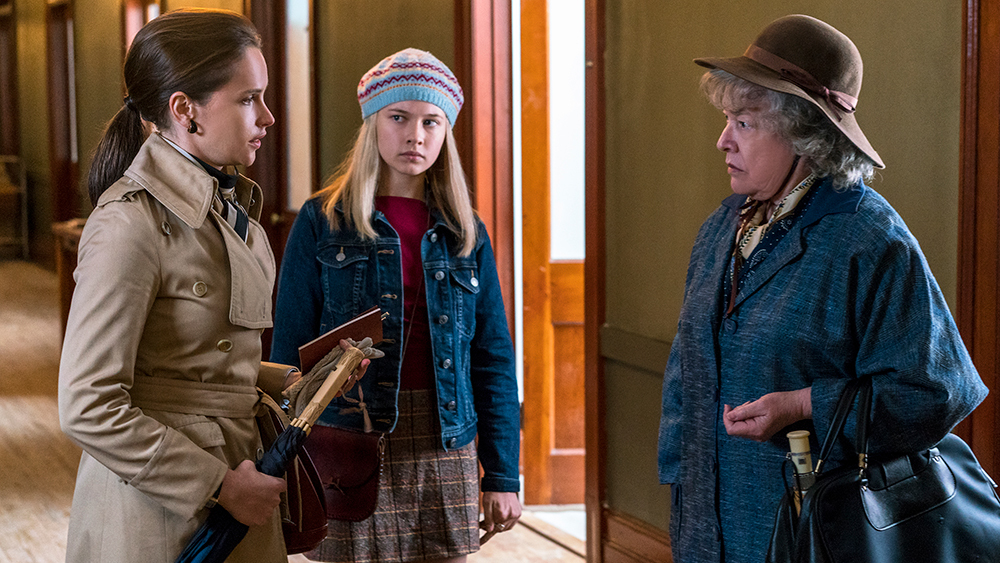 Kathy Bates, Felicity Jones, and Cailee Spaeny in On the Basis of Sex (2018)