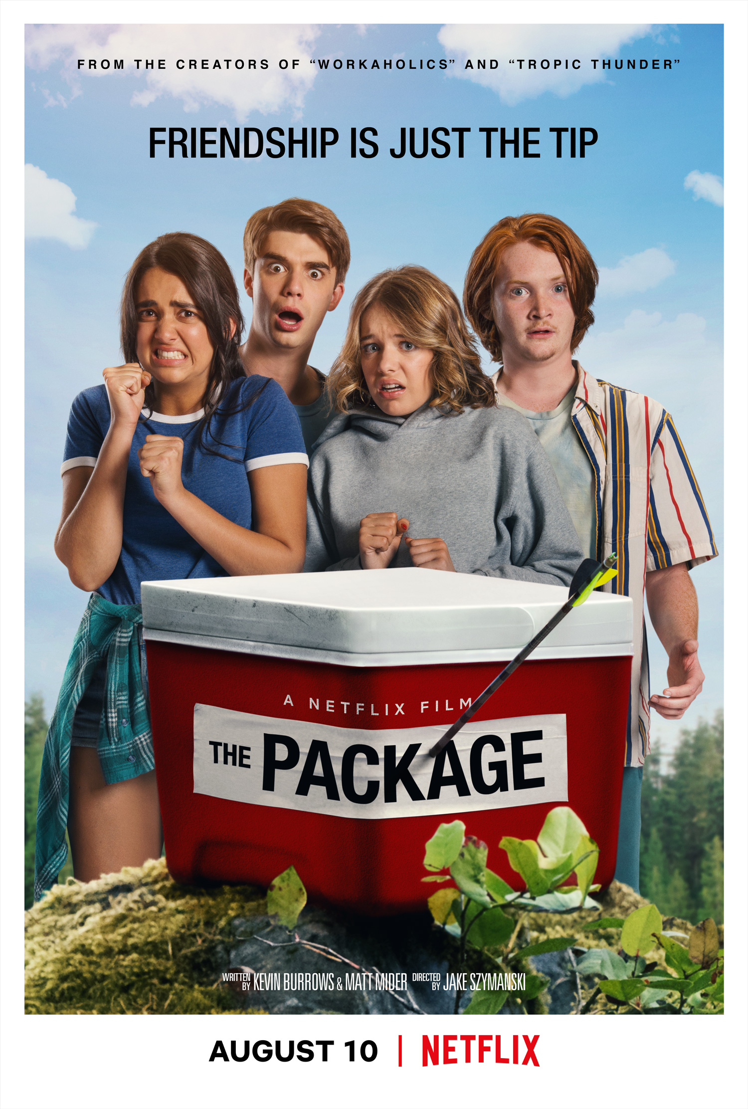 Image result for the package movie poster
