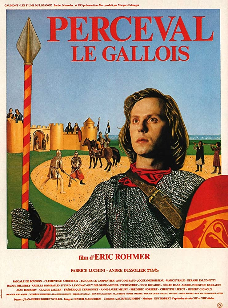 Fabrice Luchini in Perceval le Gallois (1978)