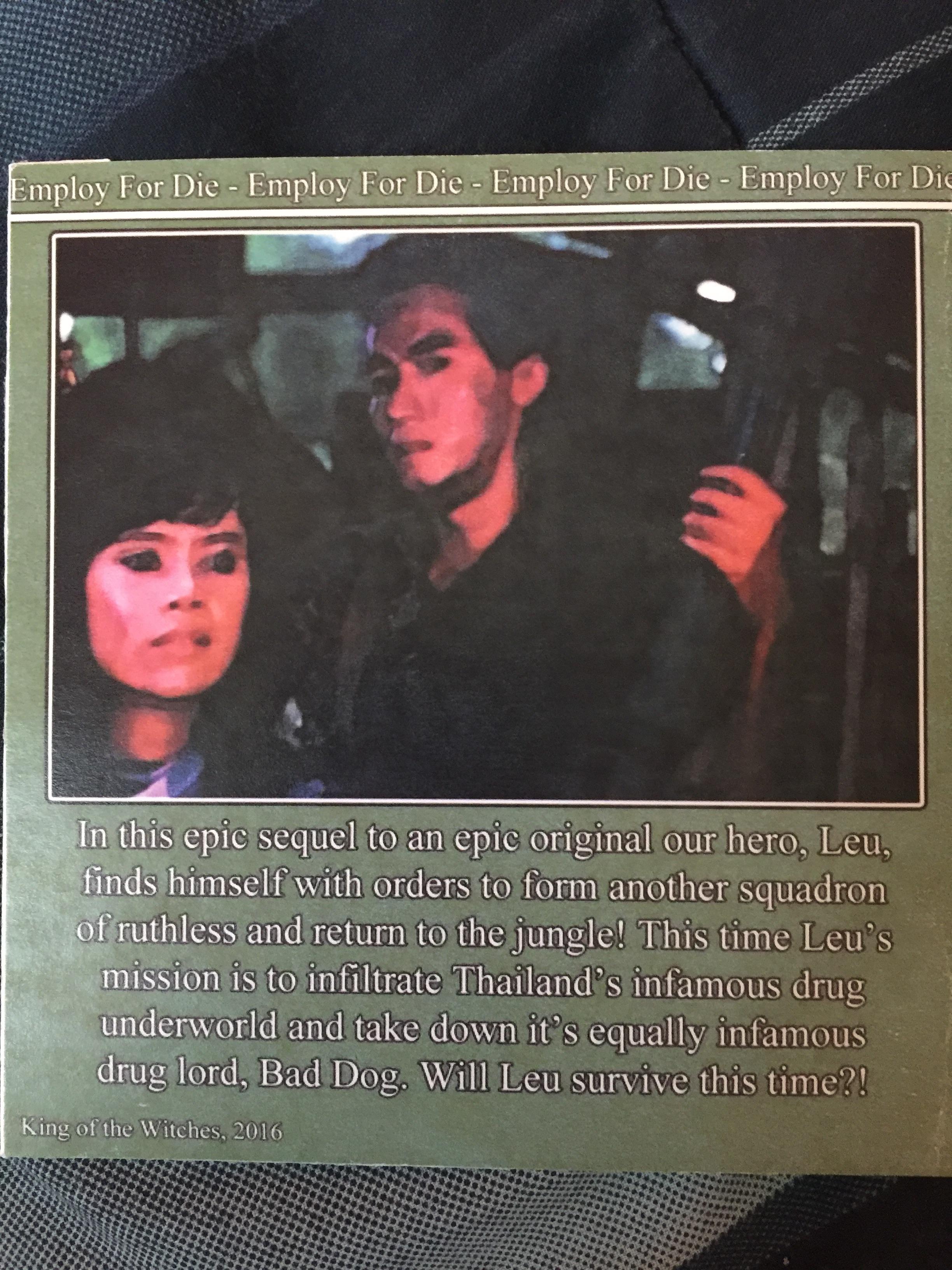 Cannibal Mercenary 2 ((1989))