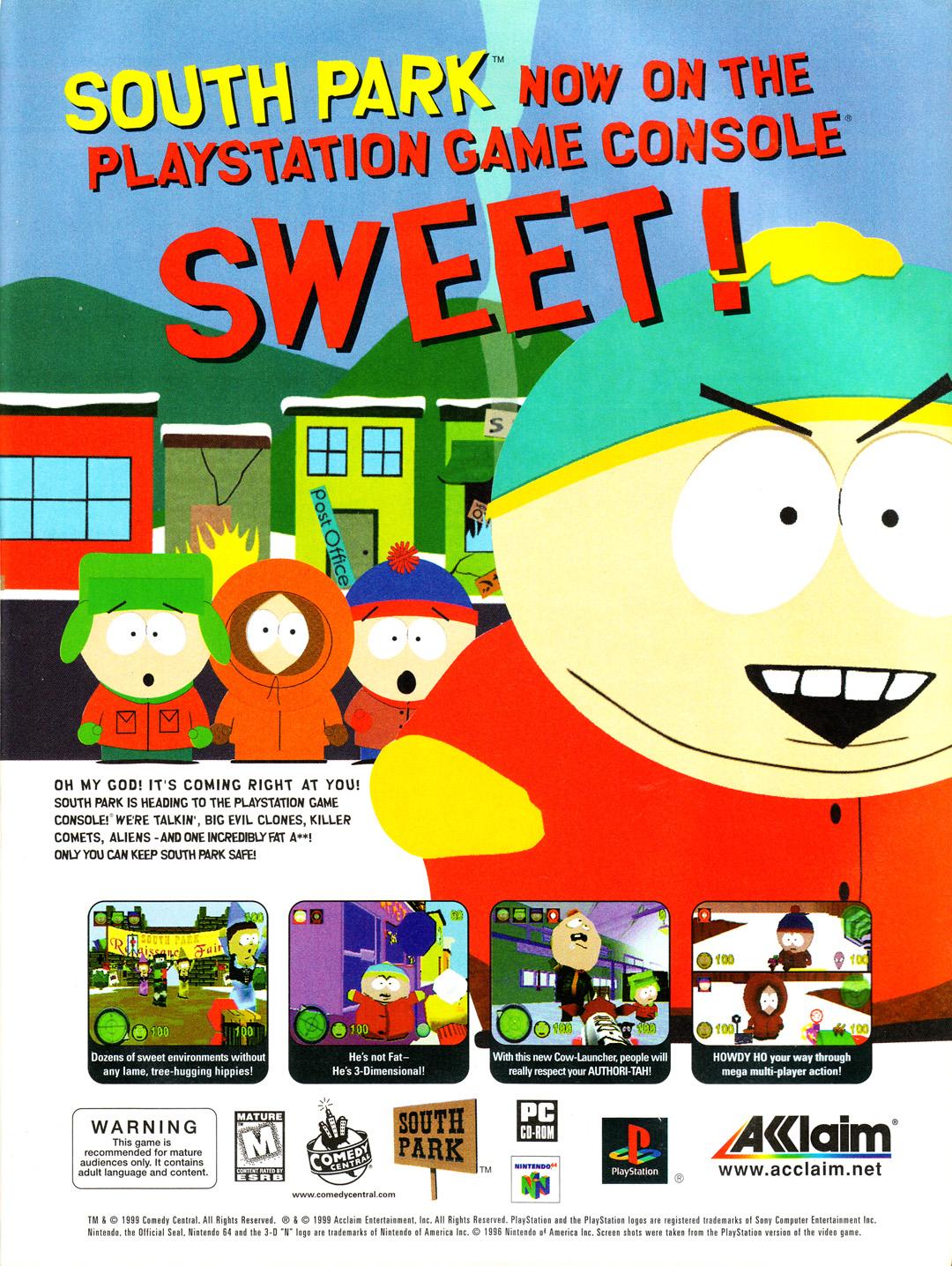 South Park (Video Game 1998) - IMDb