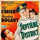 Humphrey Bogart, Pat O'Brien, and Sybil Jason in The Great O'Malley (1937)