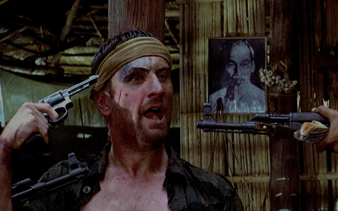 Robert De Niro in The Deer Hunter 1978