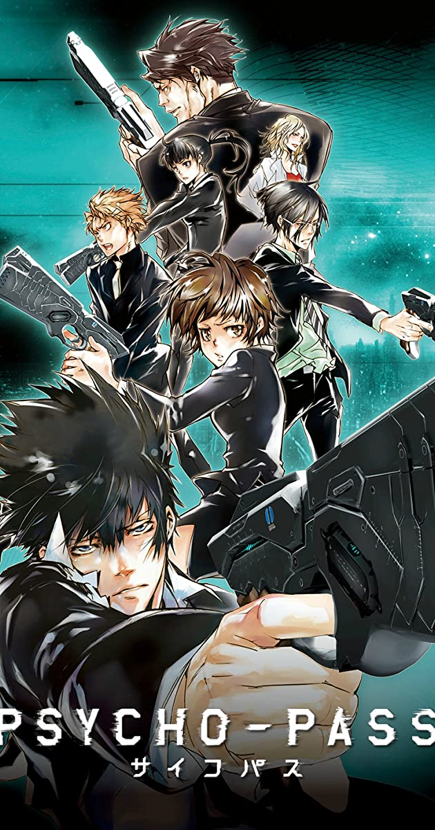 Psycho Pass TV Series 2012 2014