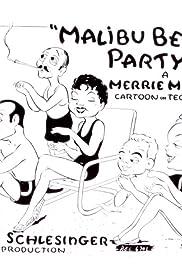 Malibu Beach Party Poster
