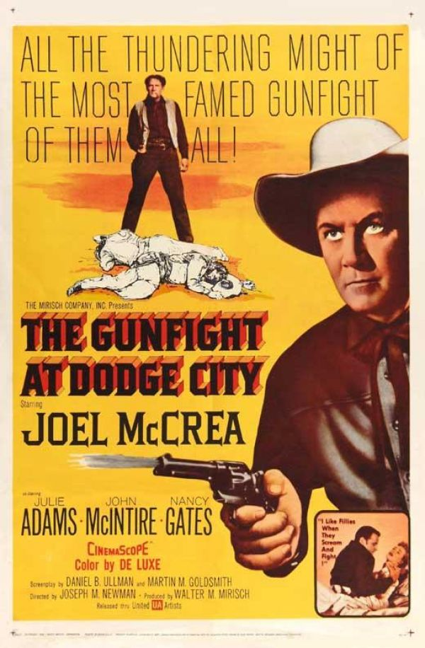 Joel McCrea in The Gunfight at Dodge City (1959)