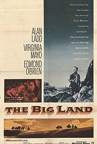 Alan Ladd, Virginia Mayo, and Edmond O'Brien in The Big Land (1957)