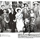 Peter O'Toole, Frances Hyland, Margot Kidder, John Standing, and Ron White in Pygmalion (1983)