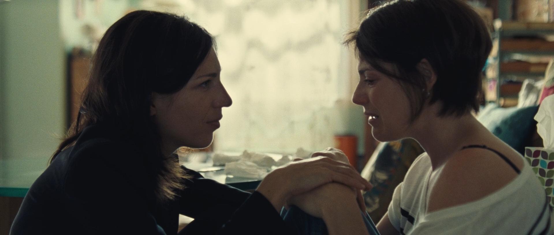 Hélène Florent and Evelyne de la Chenelière in Café de Flore (2011)