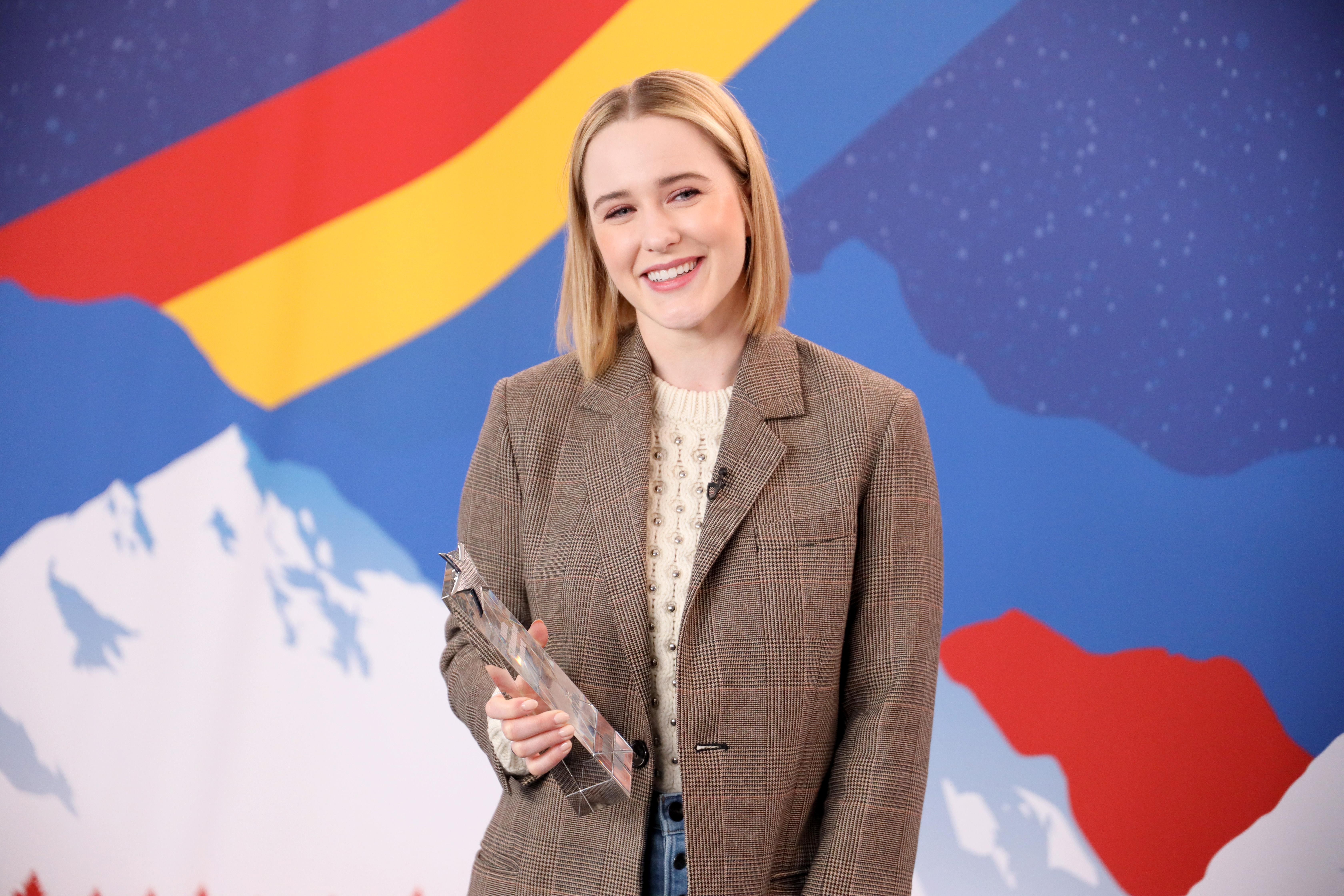 Rachel Brosnahan at an event for The IMDb Studio at Acura Festival Village (2020)