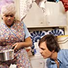 Diana Dors and Barry Evans in Adventures of a Taxi Driver (1976)