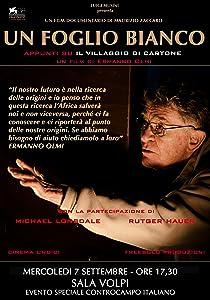 Sites for free movie watching Un foglio bianco - Appunti su 'Il villaggio di cartone' [mpeg]