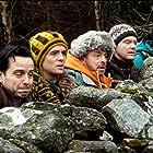 Andrew Bennett, Michael Legge, Hugh O'Conor, Andrew Scott, and Brian Gleeson in The Stag (2013)