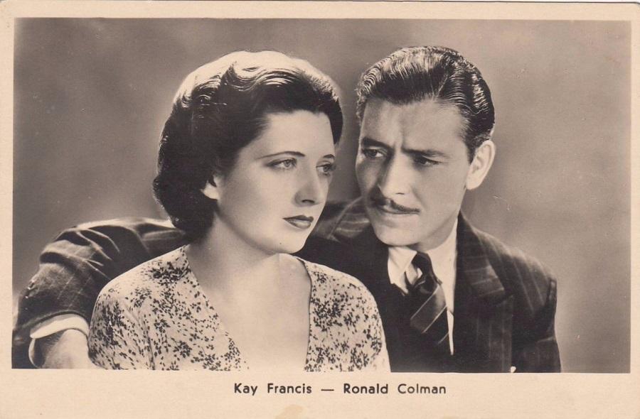Ronald Colman and Kay Francis in Cynara (1932)