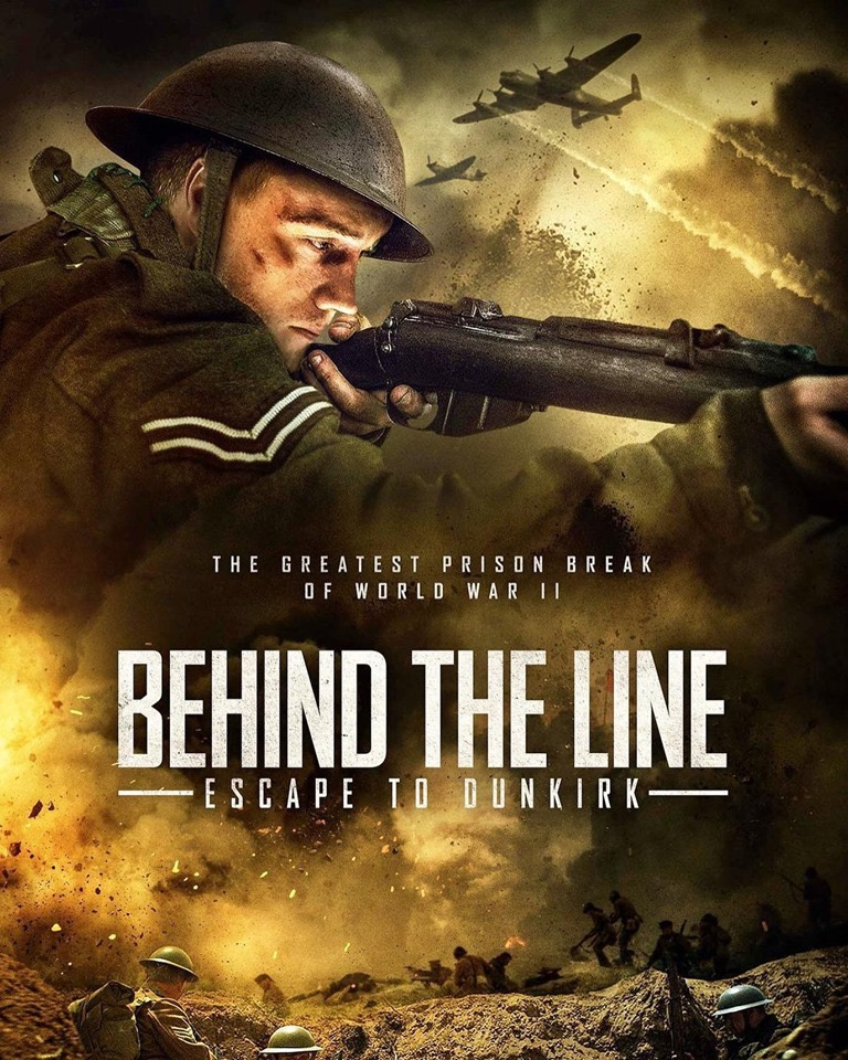 Sam Gittins in Behind the Line: Escape to Dunkirk (2020)