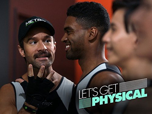 Chris Diamantopoulos and Dylan Bailey in Let's Get Physical (2018)