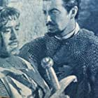 Robert Taylor and Mel Ferrer in Knights of the Round Table (1953)
