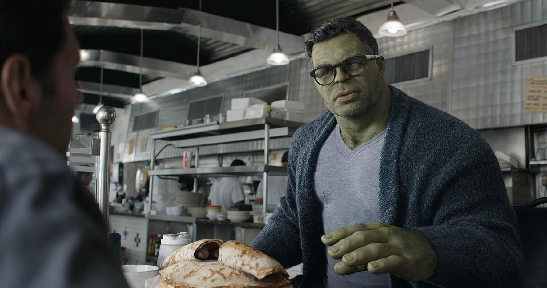Paul Rudd and Mark Ruffalo in Avengers: Endgame (2019)