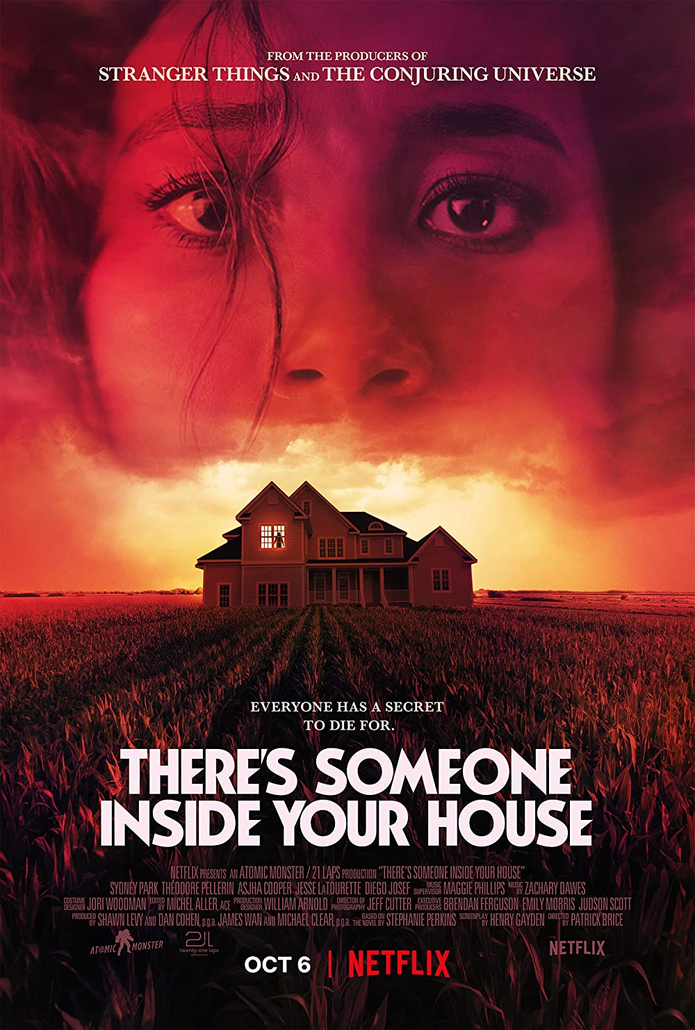 There Someone Inside Your House 2021 Hindi Dual Audio 720p | 480p Webhd x264 Esub