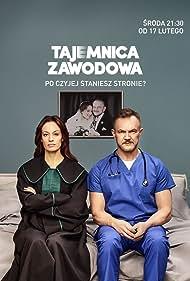 Cezary Pazura and Magdalena Rózczka in Tajemnica zawodowa (2021)