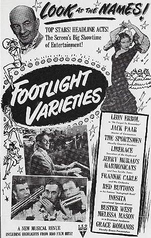 D.W. Griffith Footlight Varieties Movie