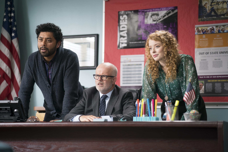 Gary Jones and Paula Burrows in Freaky Friday (2018)