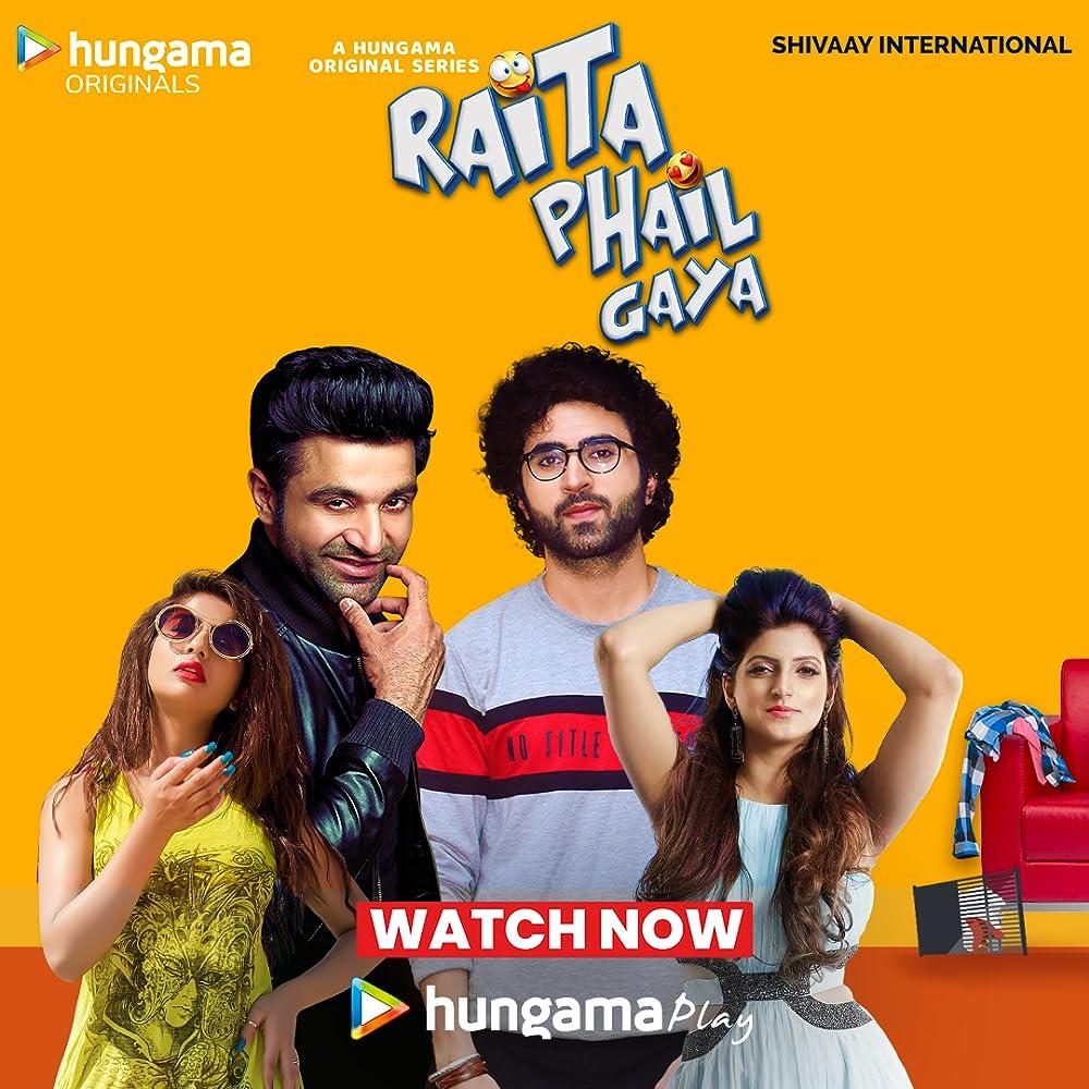 18+ Raita Phail Gaya 2020 Hindi S01 Complete Hungama Web Series 720p HDRip 700MB x264 AAC