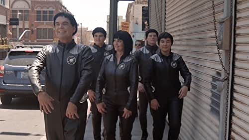 Filmmakers and stars discuss the filming and social effects of Galaxy Quest, a comedic take-off on the Star Trek franchise with brilliant commentary not only on the Star Trek series but on the real-life actors themselves.