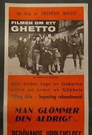 Le temps du ghetto Poster