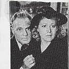 Gwen Gaze and Forrest Taylor in Underground Rustlers (1941)