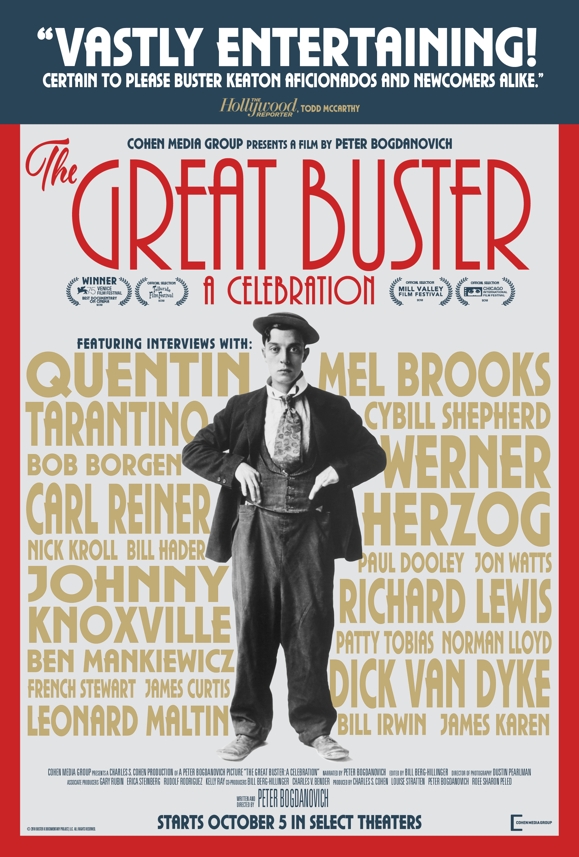 Buster Keaton in The Great Buster (2018)