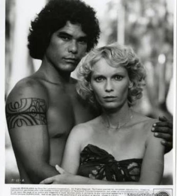 Mia Farrow and Dayton Ka'ne in Hurricane (1979)