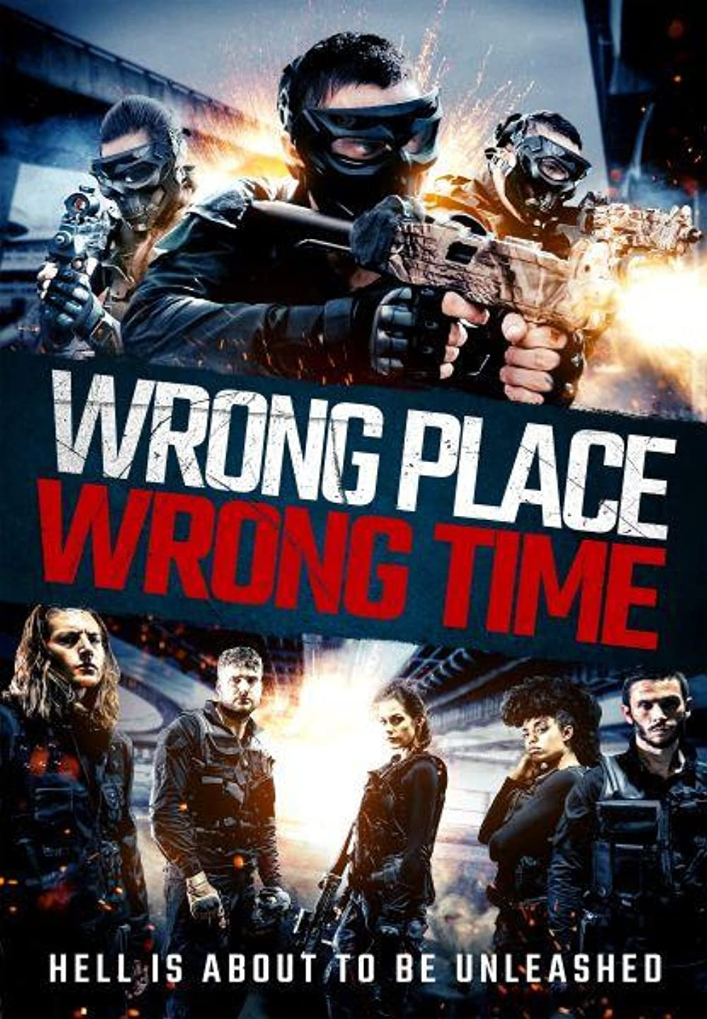 Wrong Place Wrong Time 2021 English HDRip 290MB Download