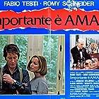 Romy Schneider, Claude Dauphin, Jacques Dutronc, and Fabio Testi in L'important c'est d'aimer (1975)
