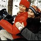 Kajsa Ernst and Sofia Helin in Masjävlar (2004)