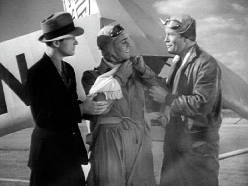 Alan Ladd, Bill Hunter, and Phillip Trent in The Green Hornet (1940)