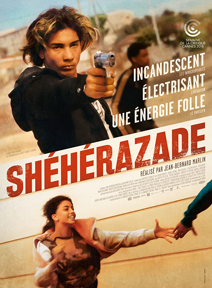 Dylan Robert and Kenza Fortas in Shéhérazade (2018)