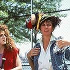 Bernadette Peters and Mercedes Ruehl in Slaves of New York (1989)