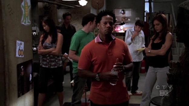 Camille Chen, Ayda Field, Simon Helberg, and D.L. Hughley in Studio 60 on the Sunset Strip (2006)