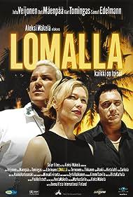 Samuli Edelmann, Outi Mäenpää, and Juha Veijonen in Lomalla (2000)