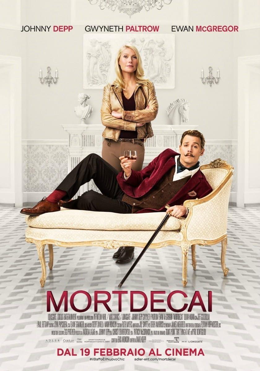 Mortdecai (2015) Hindi Dubbed
