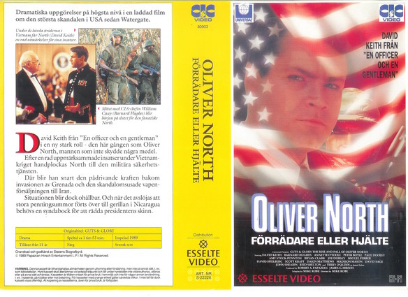 Guts and Glory: The Rise and Fall of Oliver North (1989)