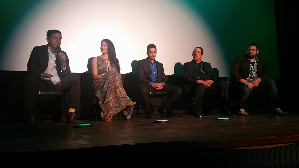 Jona Ward, Jeremy A. Lopez, Tony Estrada, and Alexis B. Santiago at an event for Bridesman (2016)