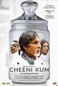 Amitabh Bachchan, Tabu, and Paresh Rawal in Cheeni Kum (2007)