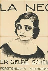 Pola Negri and J. Fenneker in Der gelbe Schein (1918)