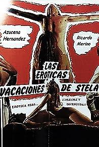 Primary photo for Las eróticas vacaciones de Stela